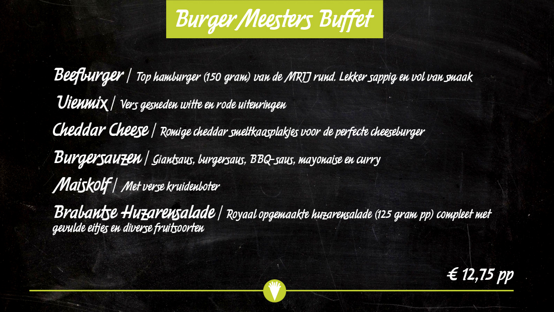 Burger Buffet