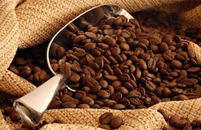 Verse koffiebonen